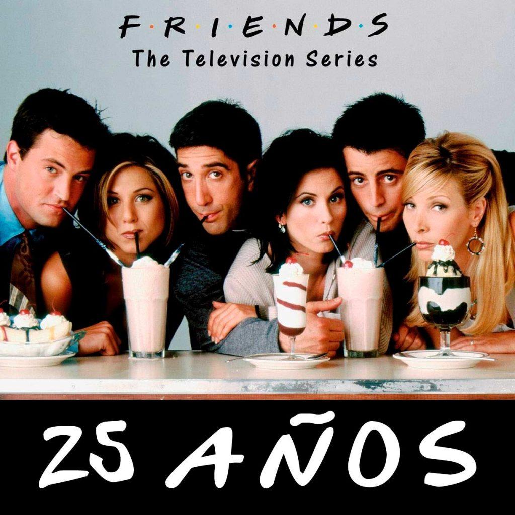 Friends 25 años